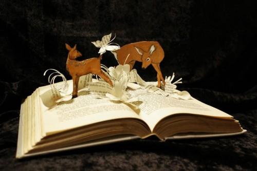 book cut
