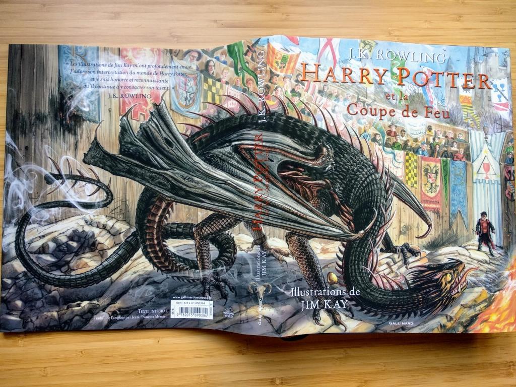 Harry Potter Et La Coupe De Feu Version Illustree J K